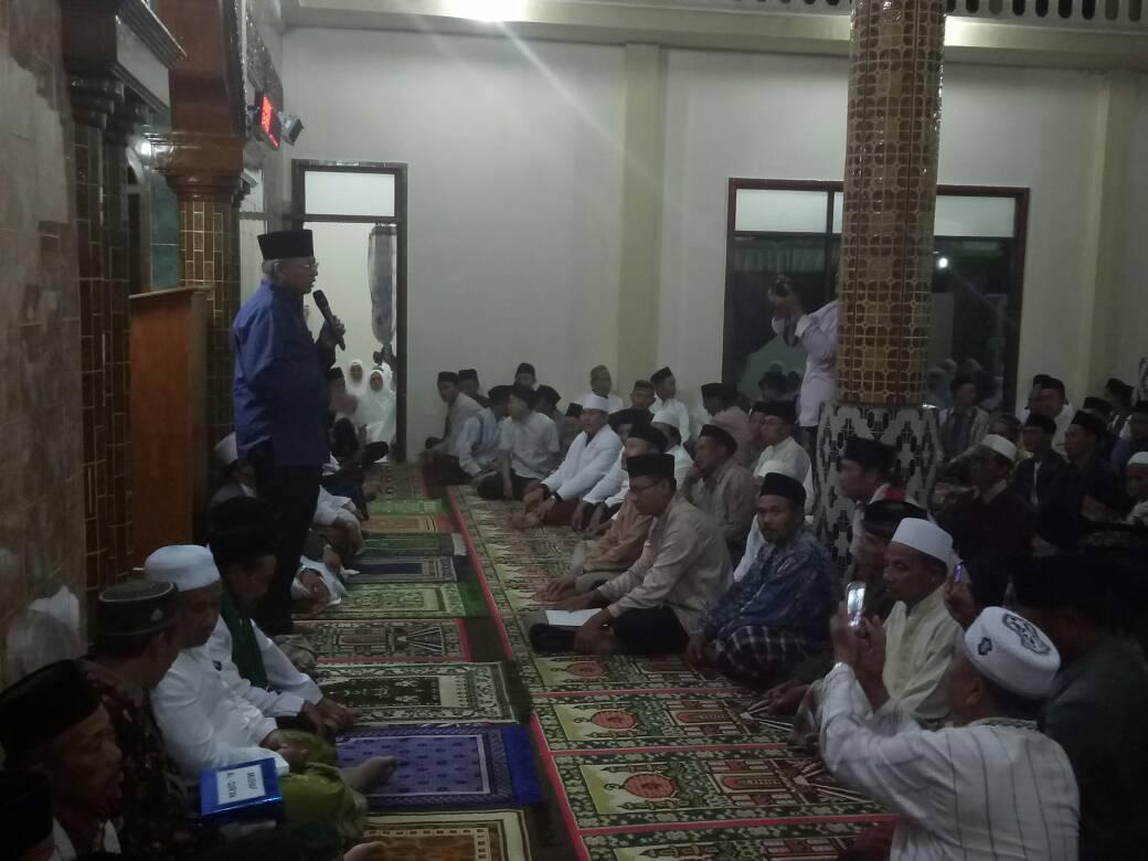 Kapolsek Dan Anggota Pujon Polres Batu Hadiri Giat Safari Ramadhan Bupati Malang