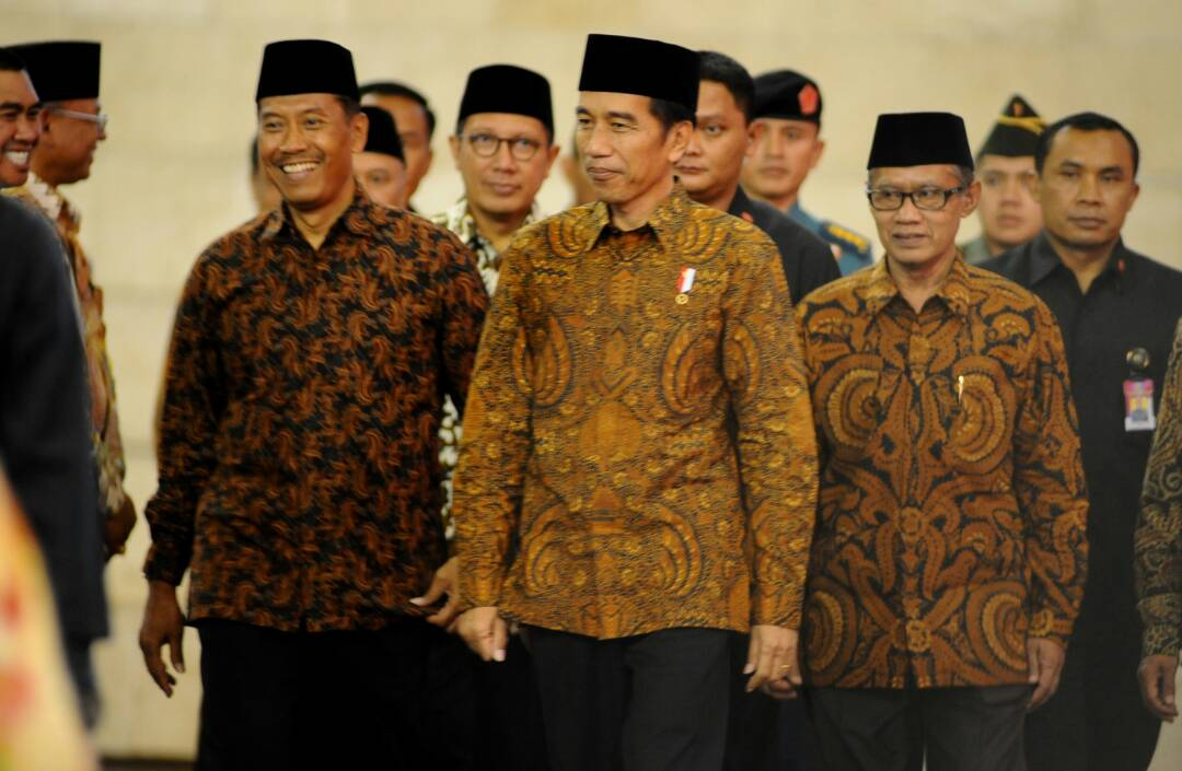 Polres Batu BKO Dalam Rangka Pengamanan Kunjungan Presiden Jokowi Ke Dome UMM