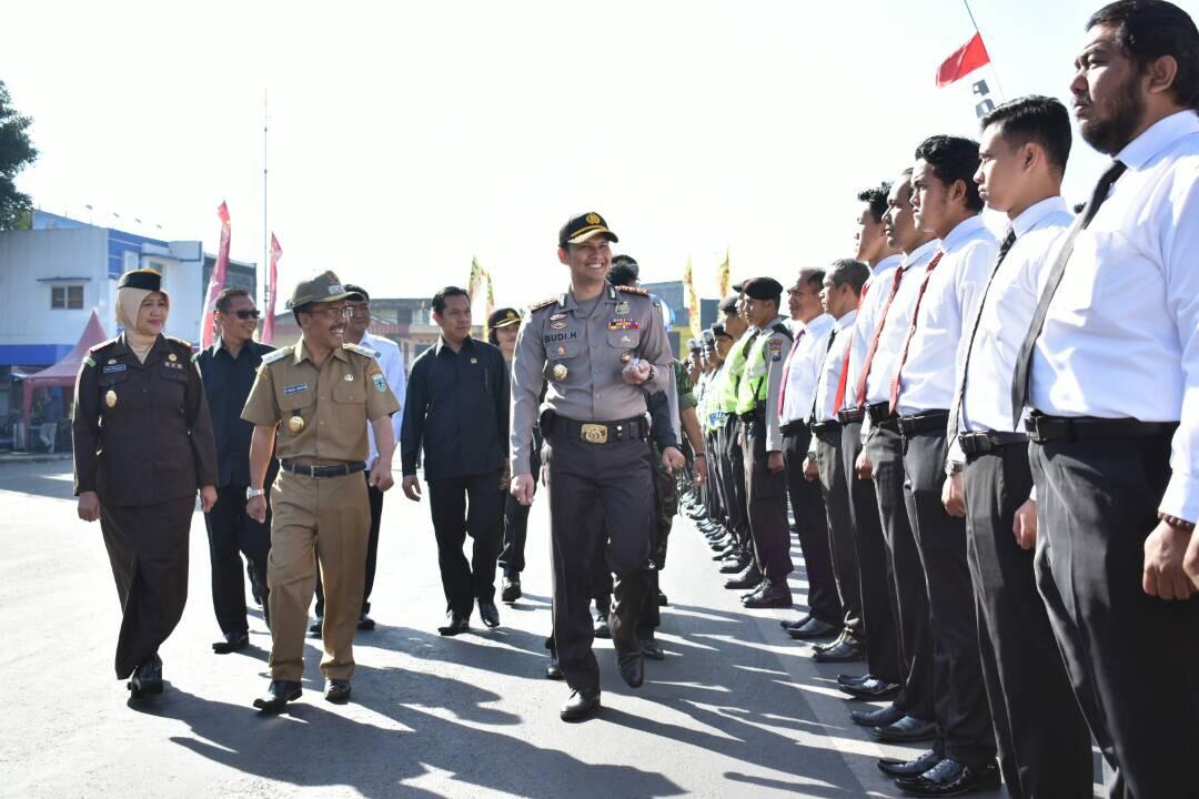 Kapolres Batu Pimpin Apel Gelar Pasukan Operasi Ramadniya Semeru 2017