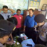 Anggota Bhabinkamtibmas Polsek Batu Polres Batu Melaksanakan Kunjungan Kemitraan Kepada Tokoh Masyarakat Kelurahan Songgokerto Kecamatan Batu