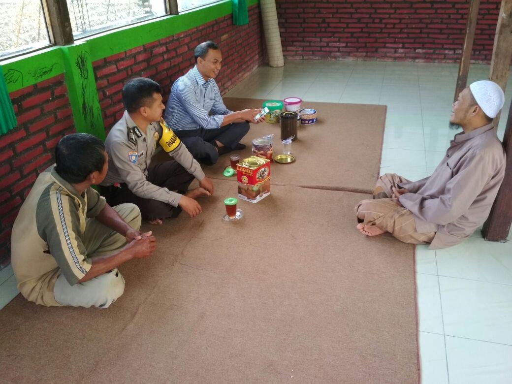 Bhabin Polsek Junrejo Polres Batu Giat Silaturahmi Ke Tokoh Agama