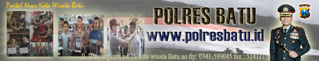 Website Kepolisian Resort Batu