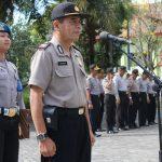 Kasubbag Bin Ops Bag Ops Polres Batu Memimpin Apel Pada Pagi Hari