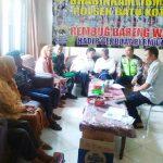 Bersama Para 3 Pilar kamtibmas Polsek Batu Kota Polres Batu Rembug Bareng
