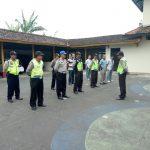 Apel Pagi Polsek Pujon Polres Batu Untuk  Tingkatkan Kedisiplinan Anggota Agar WIlayah Kondusif