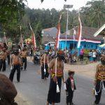 Polsek Ngantang Polres Batu Amankan Kegiatan Karnaval Desa