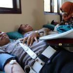 Satlantas Polres Batu Lakukan Kegiatan Donor Darah