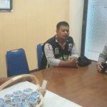 Anggota Polsek Batu Polres Batu tatap muka dengan Kepsek SMK Negeri 01 Batu