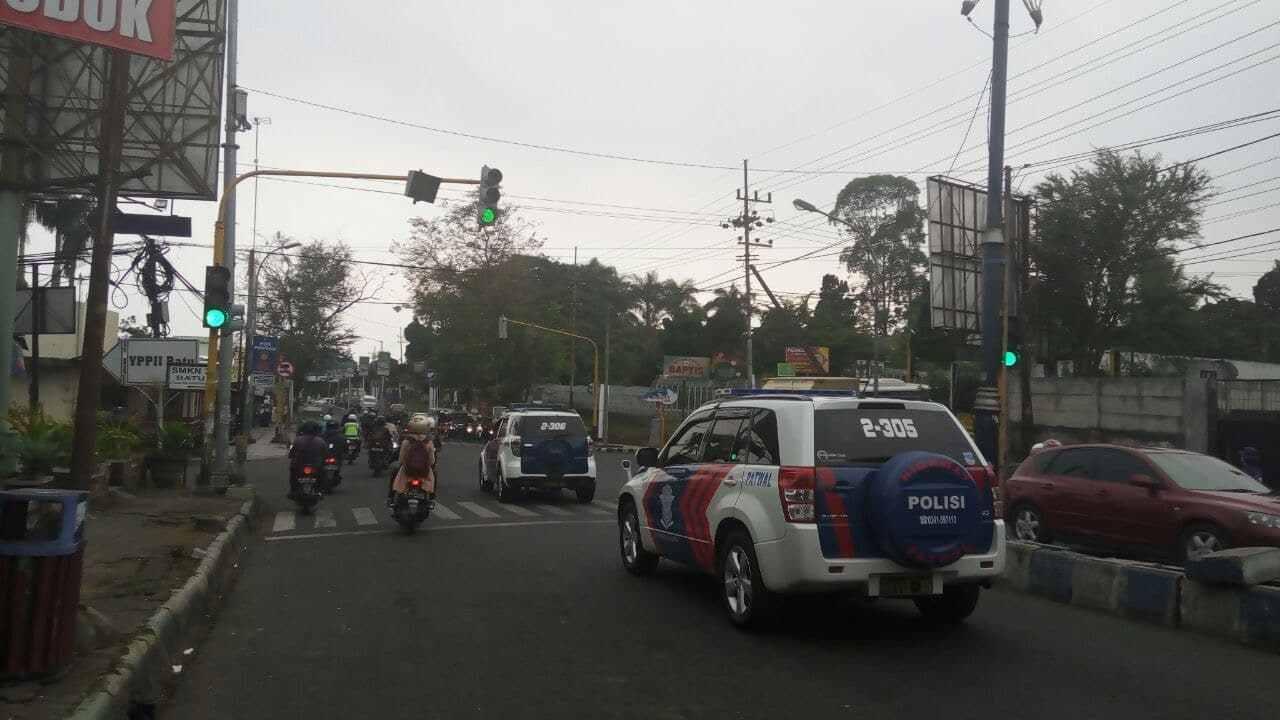 Upayakan Preventif Gaet Mitra Dengan Masyarakat, Satlantas Polres Batu Tingkatkan Patroli Hanting Kota
