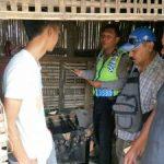 Bentuk Sinergitas, Bhabinkamtibmas Polsek Ngantang Polres Batu Sambang Desa