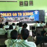 Upaya Kerjasama Dengan Masyarakat, Unit Satlantas Polres Batu Go To School Binluh Tertib Berlalu Lintas