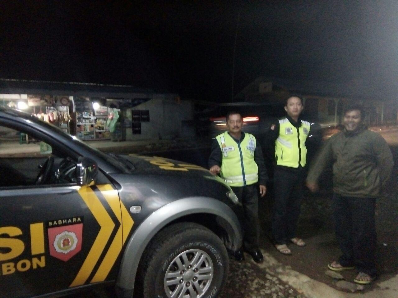 Kanit Sabhara Polsek Kasembon Polres Batu Laksanakan Patroli Wilayah