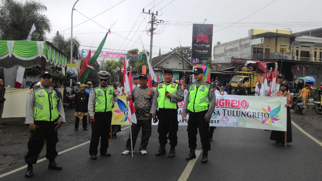Anggota Bhabin Polsek Batu Polres Batu Sambang Ke Penyalur LPG 3 KG Berikan Himbauan Kamtibmas