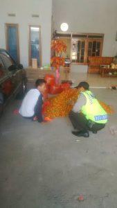 Kapolsek Ngantang Polres Batu Giatkan DDS (Door to Door Sistem) Ke Tokoh Masyarakat