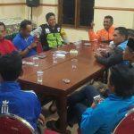 Anggota Bhabinkamtibmas Polsek Batu Kota Polres Batu Melaksanakan Giat Bintibluh Guna Bangun Kesadaran Dan Partisipasi Pemuda Terhadap Kamtibmas
