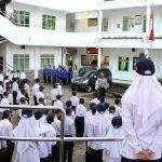 Jadi Irup di sekolah,KBO Satlantas Polres Batu Ajak Pelajar Tertib Berlalu lintas