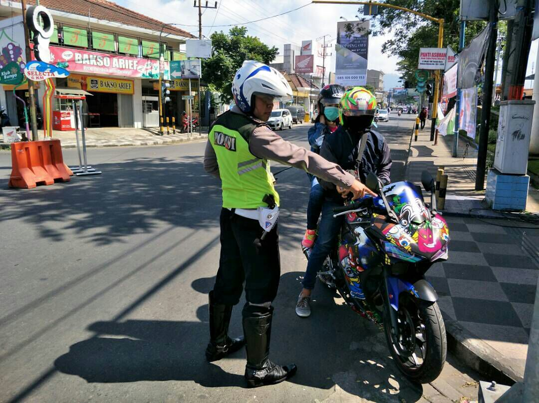 Satlantas Polres Batu Tingkatkan Penindakan Untuk Pelanggar Berpotensi Lakalantas