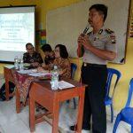 Anggota Polsek Kasembon Polres Batu Laksanakan Penyuluhan TAHURA Di SMK Sunan Ampel Kasembon