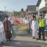 Anggota Polsek Kasembon Polres Batu Melaksanakan Pengamanan Gebyar Jalan Sehat