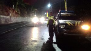 Antisipasi Begal, Polsek Bumiaji Polres Batu Giatkan Patroli Malam