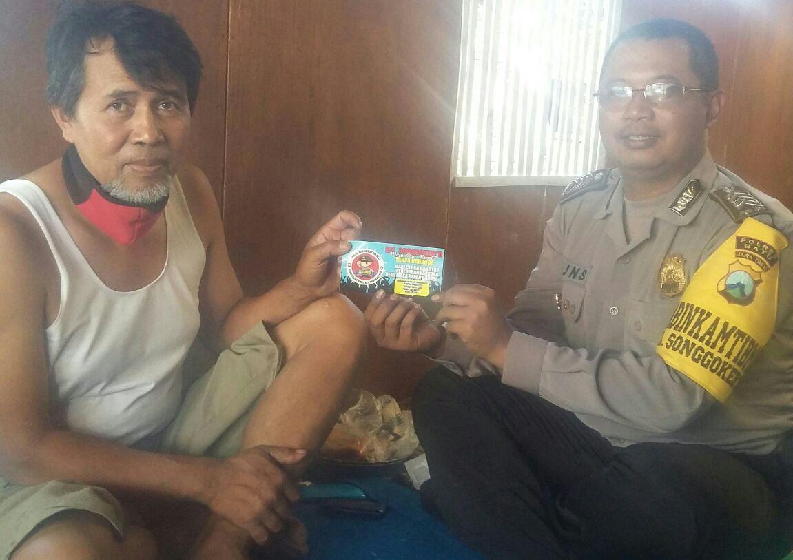 Ops Bina Kusuma, Polsek Batu Polres Batu Ajak Warga Perangi Narkoba