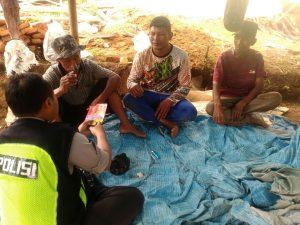 Ops Bina Kusuma Semeru 2017, Anggota Polsek Batu Polres Batu Giatkan Binluh Kepada Warga