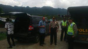 Kapolsek Ngantang  Bersama Anggota Giatkan Patroli Obyek Vital Dan Wisata Kec. Ngantang