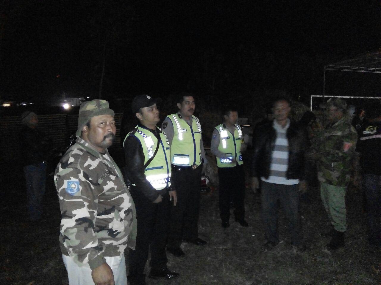 Anggota Polsek Junrejo Polres Batu Laksanakan Giat Patroli Malam