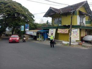 Tingkatkan Keamanan, Polsek Junrejo Polres Batu Giatkan Pos Awal