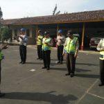 Pupuk rasa Disiplin tinggi, anggota Polsek Pujon Polres Batu Laksanakan Giat Apel Pagi