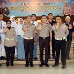 Kapolres Batu Buka Pelatihan Safety Riding Jelajah Jawa Timur