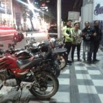 Anggota Turjawali Satlantas Polres Batu Ajak Anggota Klub Motor Tertib Berlalu Lintas Untuk Menekan Pelanggaran Lalulintas Yang Berujung Laka Lantas