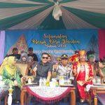 Kapolsek Junrejo Polres Batu Menghadiri Acara Pawai Desa Pendem Wilayah Binaan
