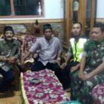Anggota Bhabinkamtibmas Polsek Kasembon Polres Batu Bersama Babinsa Laksanakan Giat Silaturrahmi Ke Temas Tokoh Agama Wilayah Binaan