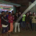 Anggota Bhabin Polsek Batu Polres Batu Patroli Bersama Warga Binaanya
