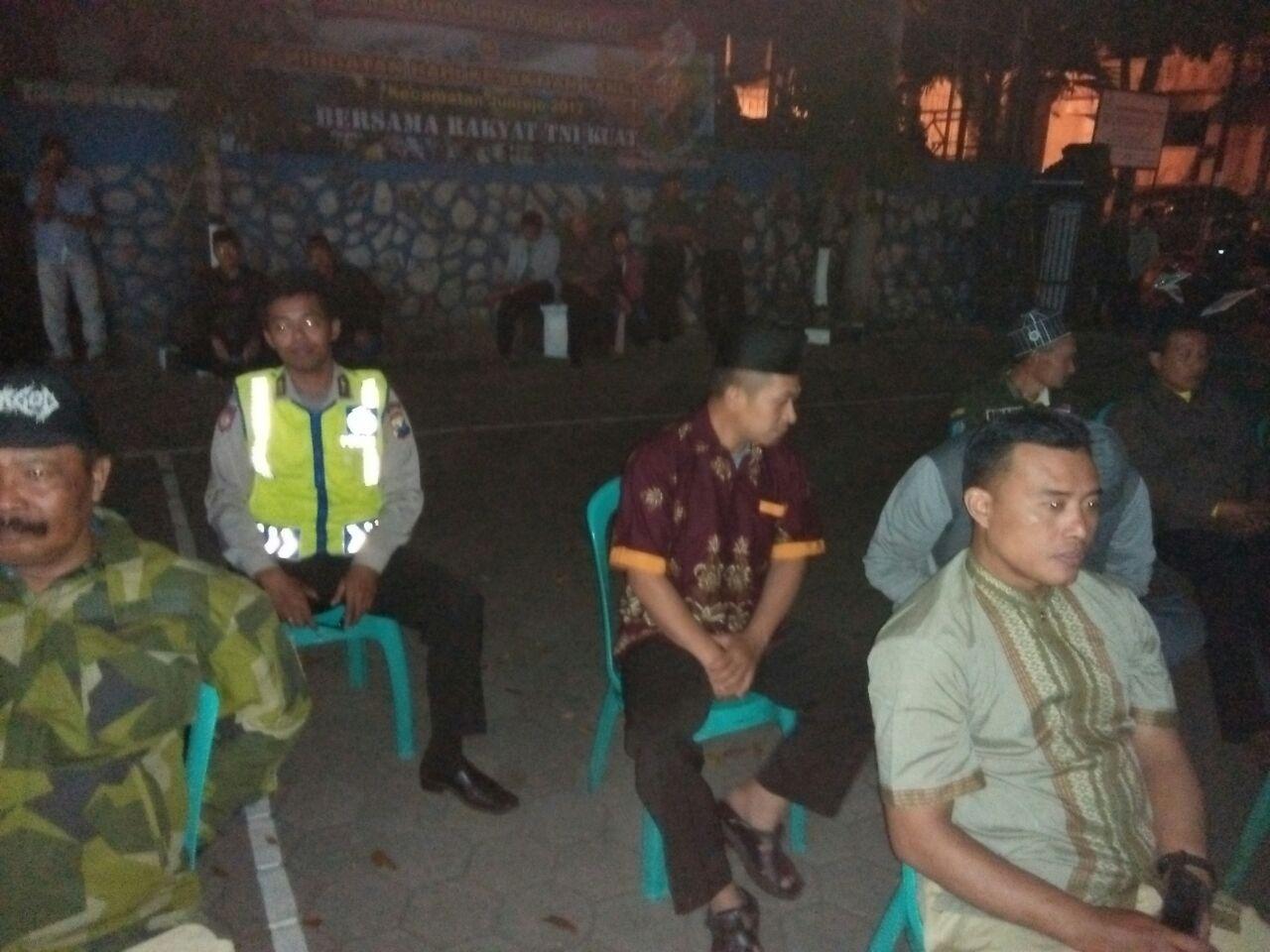 Polres Batu Polsek Junrejo Mengamankan Nonton Bareng G30S-PKI.
