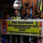 Lakukan Kunjungan Pos Responsif Rumah Singgah Bhabinkamtibmas Kelurahan Ngaglik Polsek Batu
