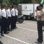 Anggota Bhabinkamtibmas Polsek Batu polres Batu Tingkatkan Kemampuan Pam Swakarsa