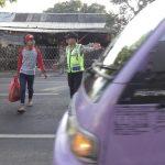 Polsek Junrejo Polres Batu Giatkan Poros Pagi Demi Tingkatkan Pelayanan Prima Kepada Pengguna Jalan