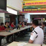 Anggota Bhabin Polsek Batu Polres Batu Hadir Dalam Acara Musyawarah Bersama Karyawan Batu Plaza