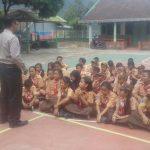 Polres Batu Berikan Sosialisasi Sambang Ke Siswa SD Negeri Songgokerto 02 Guna Antisipasi Tindak Kekerasan Anak