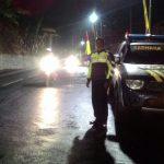Polsek Jajaran Polres Batu Beri Rasa Aman Dengan Patroli Malam Hari