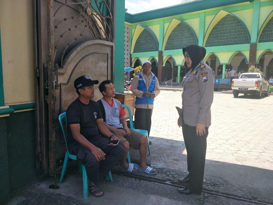 Kasat Binmas Polres Batu Melaksanakan Kegiatan Sambang di Masjid An-nur, Kota Batu
