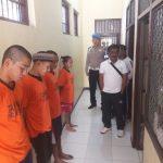 Piket Sipropam Polres Batu Lakukan Cek Tahanan Antisipasi Tahanan Lari
