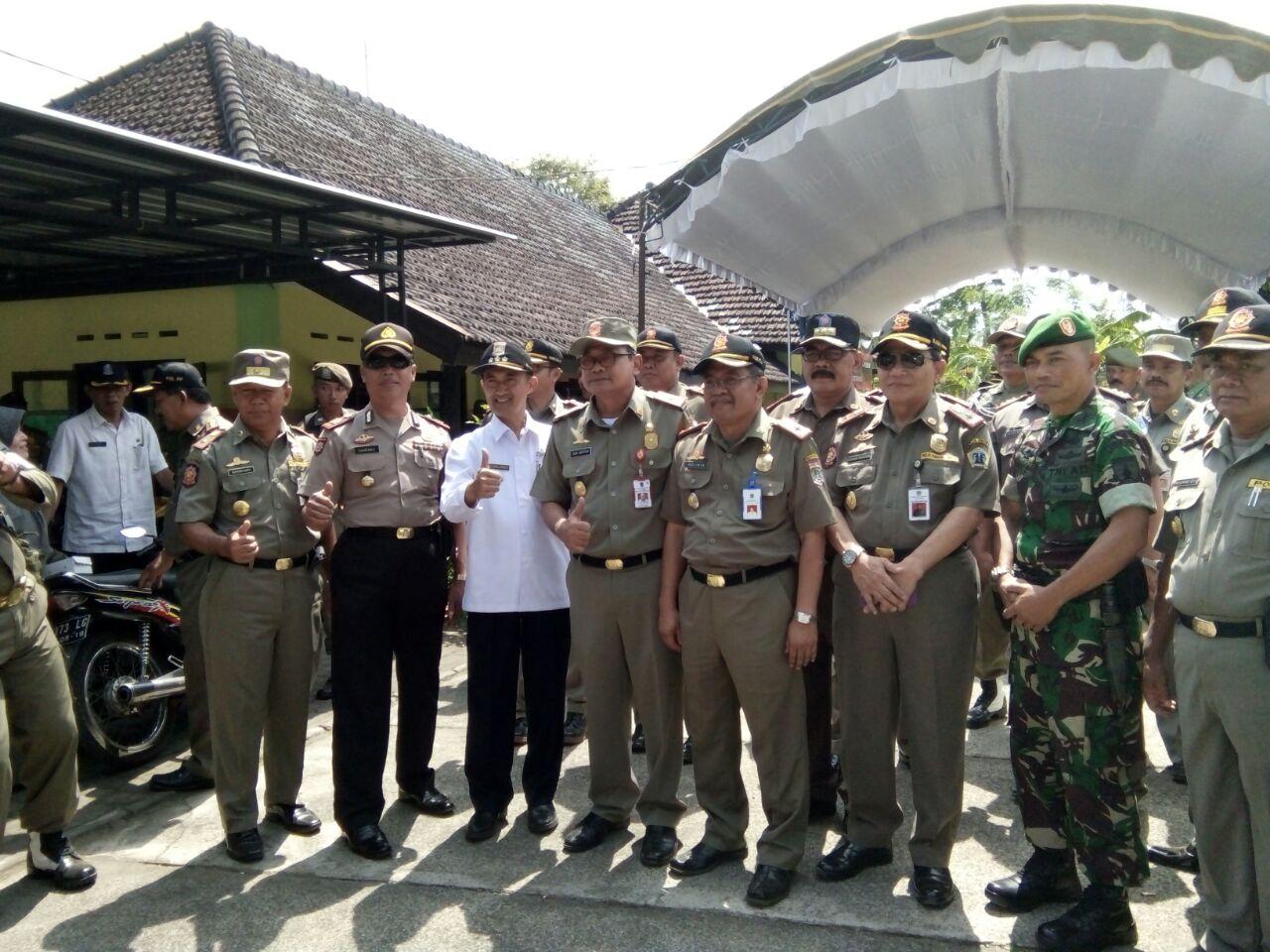 Kapolsek Ngantang bersama Anggota Melakukan Pengamanan Pembukaan Jambore Ke XV di Taman Wisata Selorejo