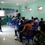 Kanit Sabhara Polsek Kasembon Polres Batu menghadiri undangan kepala Desa Pondok Agung kec Kasembon.