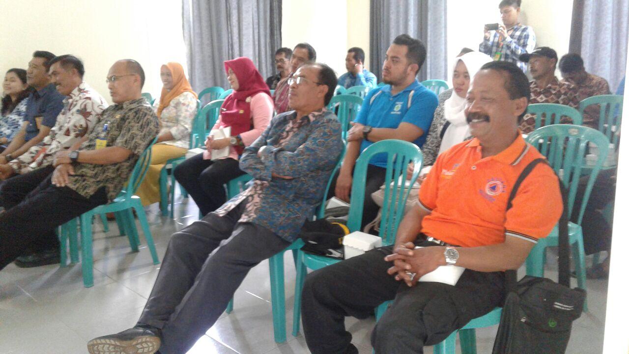 Kapolsek Ngantang Polres Batu Menghadiri Sosialisasi Pra-Bencana Alam Oleh BNPB Malang
