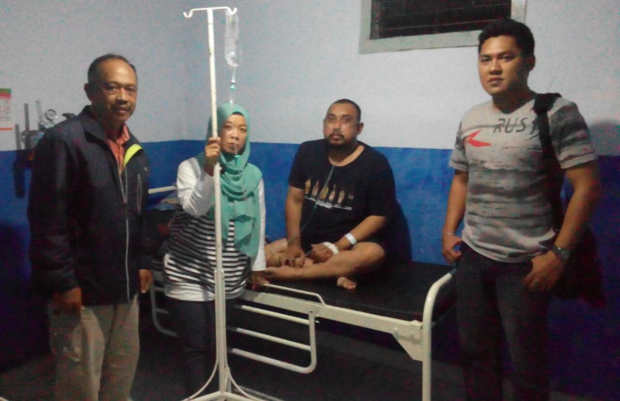 Kasat Tahti Polres Batu Selalu Setia Menjenguk Tahanan Yang Sakit di RS Hasta Brata