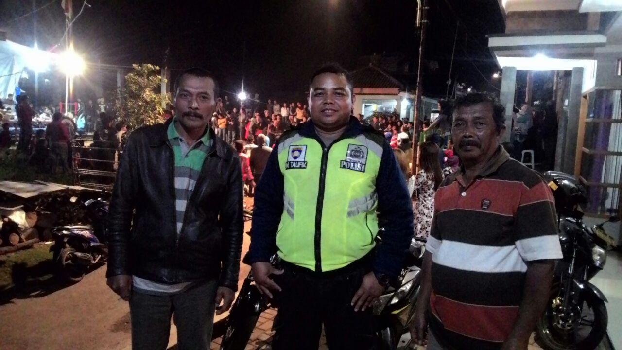 Pengamanan Kegiatan Gebyakan Jaranan Oleh Unit Patroli Polsek Bumiaji Polres Batu