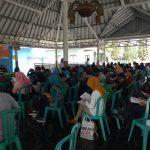 Polsek Pujon Polres Batu Lakukan Pengamanan Tes Tulis calon Anggota Panitia pemilihan Suara ( PPS )